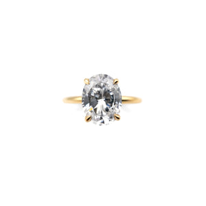 ALTANA MARIE - Oval Cut Solitaire Ring