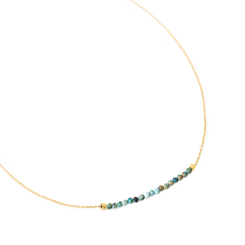 ANNE SPORTUN - Centre Gemstone Wrap Necklace