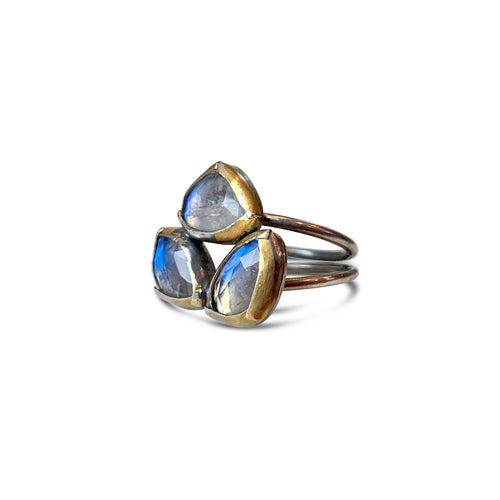 AUSTIN TITUS - Folded Trio Ring