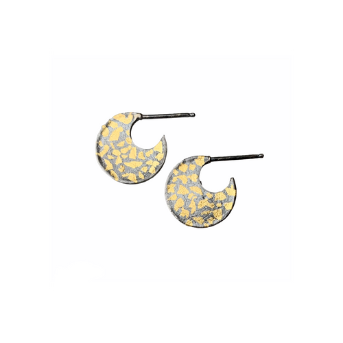 AUSTIN TITUS - Speckled Crescent Hoops