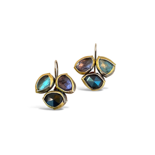 AUSTIN TITUS - Fold Trio Earrings