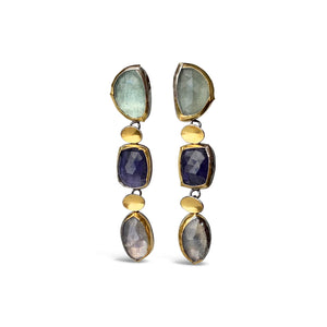 AUSTIN TITUS - 3 Drop Earrings