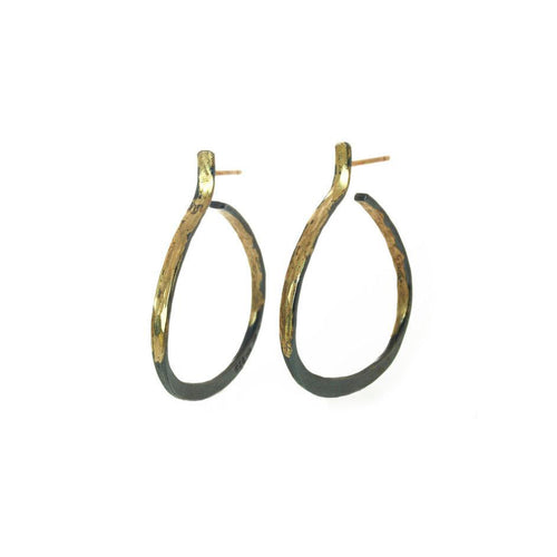 AYESHA STUDIO - Open Hoop Earrings