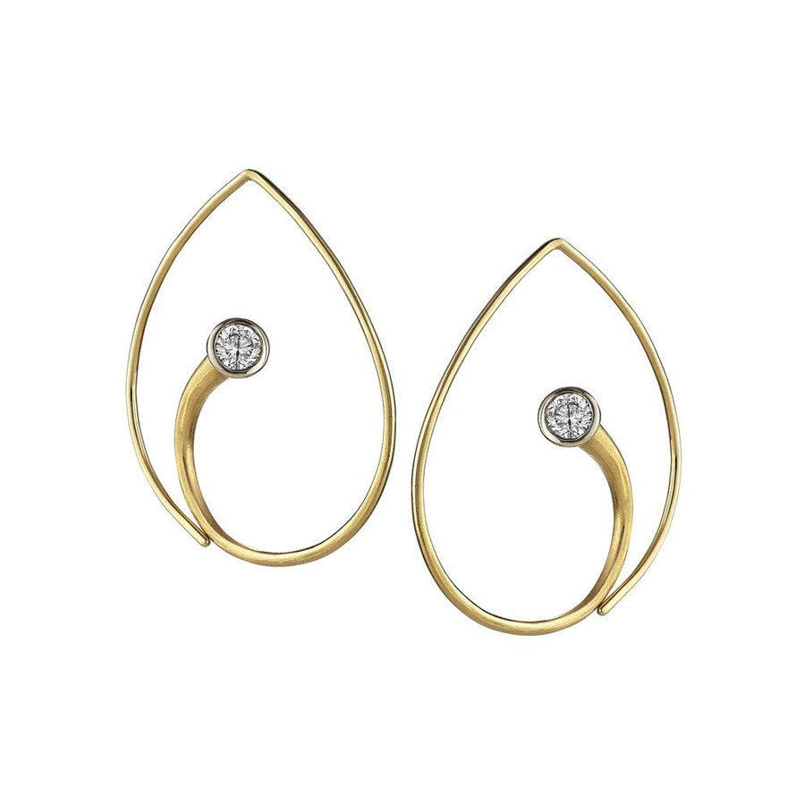AYESHA STUDIO - Inverted Vortex Earrings
