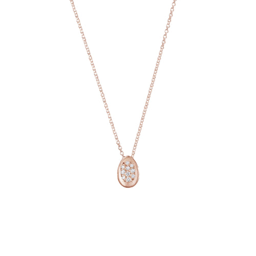 BRANCH - Pave Egg Necklace