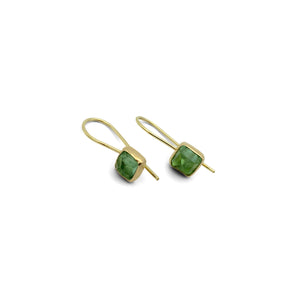 CLAUDIA BERMAN - Tourmaline Small Drop Earrings