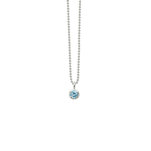 CATHERINE WEITZMAN - Mini Solitaire Necklace