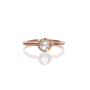 EC DESIGN - Rosecut Solitaire Ring