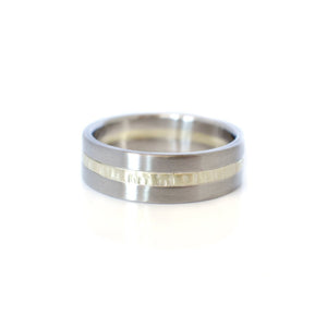 EC DESIGN - Satin Palladium & Hammered Band