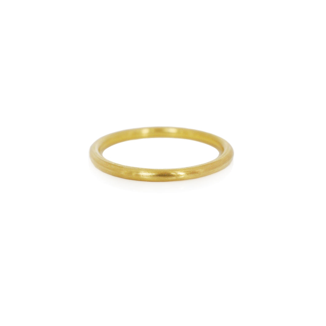 EC DESIGN - 1.6mm Round Yellow Gold Band