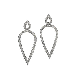 GEMMA COUTURE - Pave Diamond Earrings