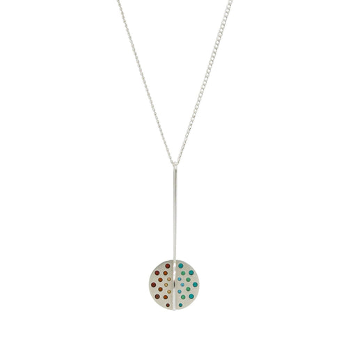 HILARY FINCK - Plique Orb Necklace