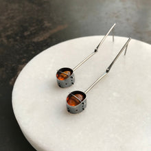 HILARY FINCK - Captured Amber Drop Earrings
