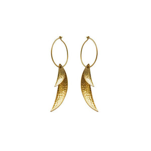 HILARY FINCK - Leaf Cluster Earrings