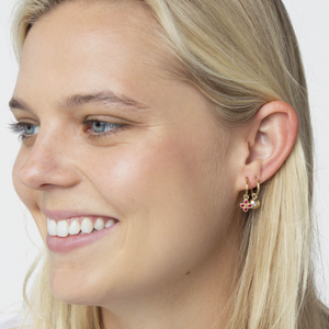 HANNAH G - Hinge Hoop Earring (Sold Individually)