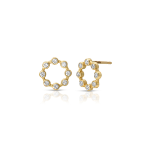 HANNAH G - Small Circle Earrings
