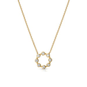 HANNAH G - Small Circle Necklace