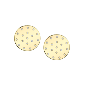 HANNAH G - Diamond Dot Earrings