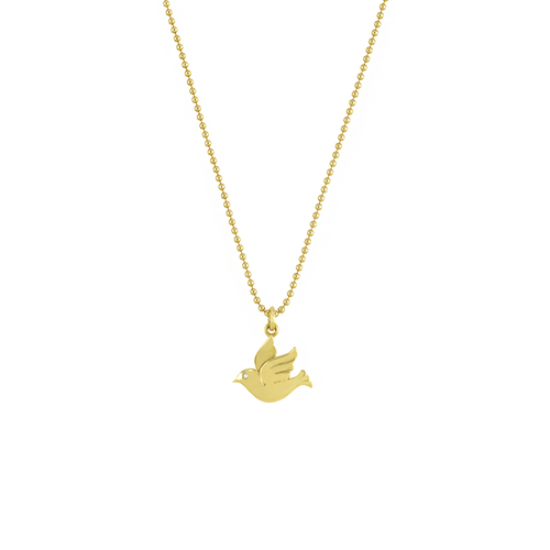 JOELY RAE - Dove Pendant Necklace