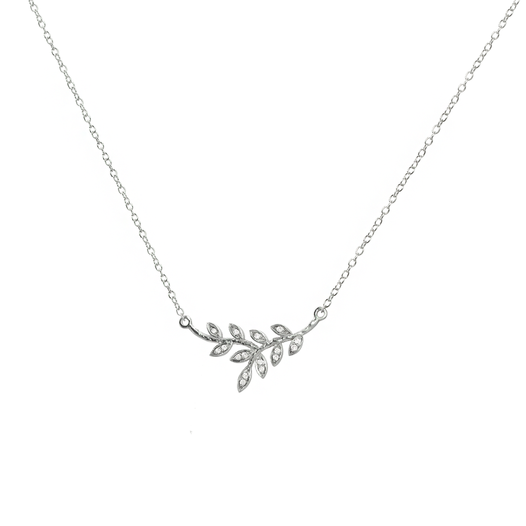 JOELY RAE - Olive Branch Necklace