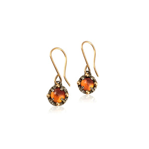 JENNY WINDLER - Juju Earrings w/ Citrine Gemstones