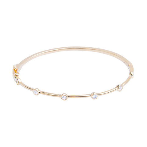 LEE JONES - Diamond Stone Bangle