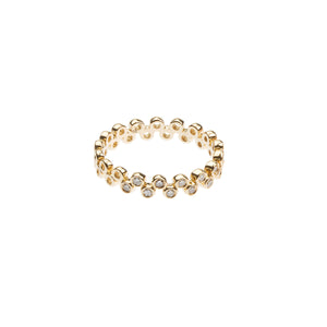 LEE JONES - Diamond Semilla Eternity Band