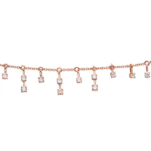 LEE JONES - Sparkling Sugar 7 Charm Necklace
