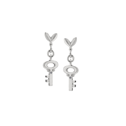 MELISSA SCOPPA - Olive and Key Link Earrings