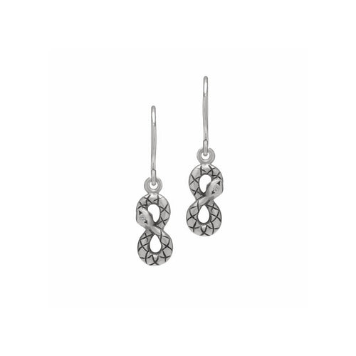 MELISSA SCOPPA - Ouroboros Charm Earrings