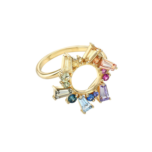 MEREDITH YOUNG - Rainbow Sapphire Ring