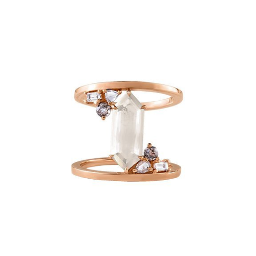MEREDITH YOUNG - Bullet Diamond Ring