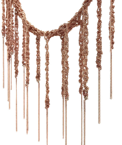 MOSS FOLLOWS - Fringe Necklace