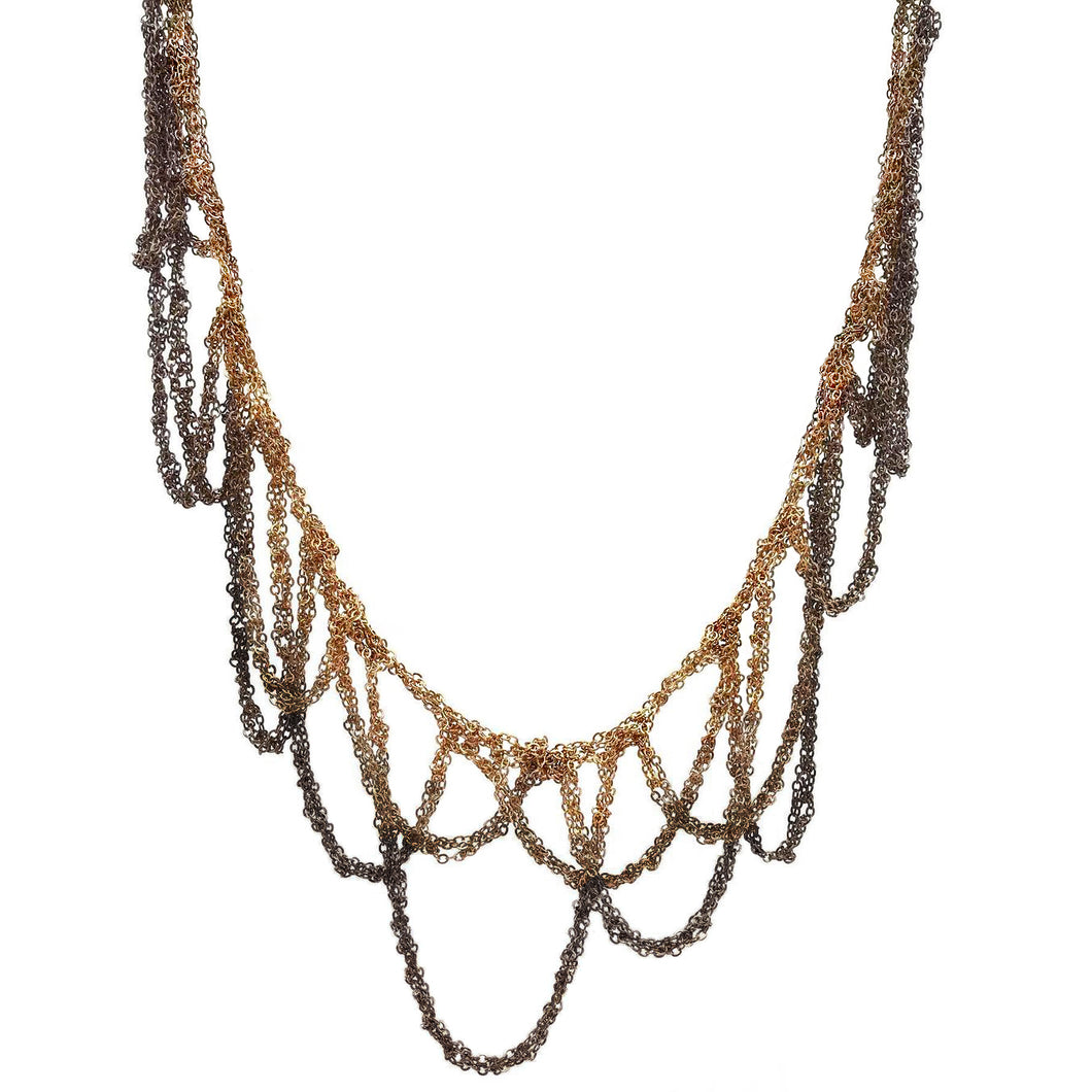 MOSS FOLLOWS - Ombre Loop Necklace