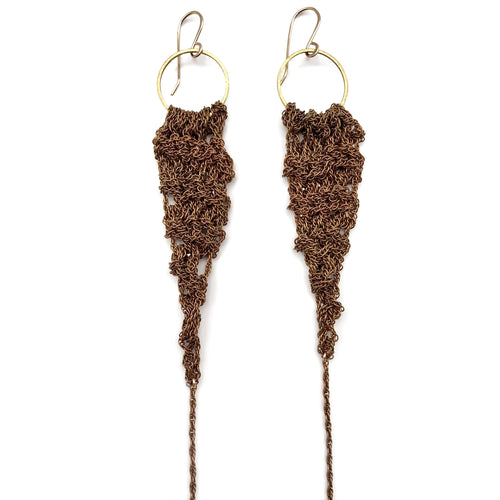 MOSS FOLLOWS - Medium Drop Earrings