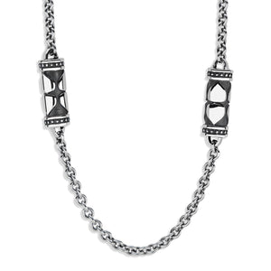 PAMELA ZAMORE - Luxe Lotus Station Necklace