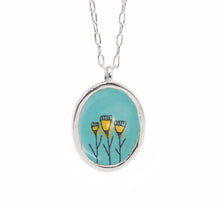 MARK POULIN - Flower Trio Pendant