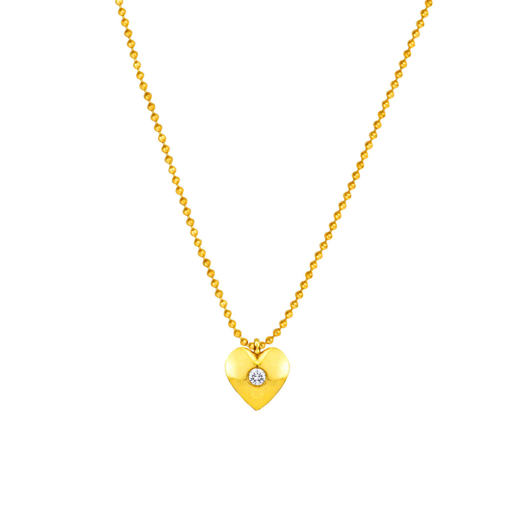 SUNEERA - Amor Charm Necklace