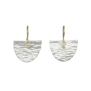 SARAH MCGUIRE - Large Astrid Half Moon Earrings