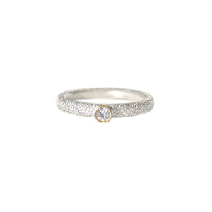 OWEN MCINERNEY - Bright White Stacking Ring