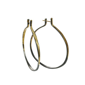 "AYESHA STUDIO - ""Splash"" Hoop Earrings"
