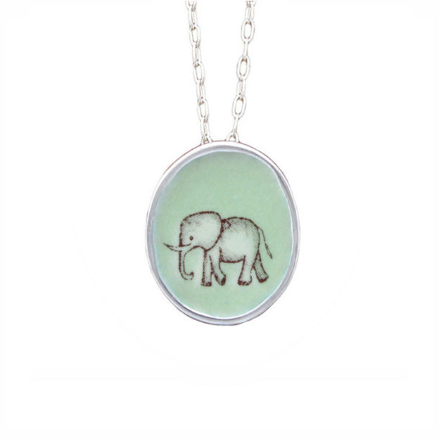 MARK POULIN - Elephant Pendant