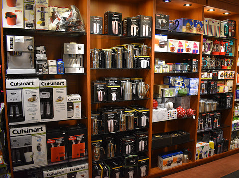 La brulerie coffee machines and accessories.