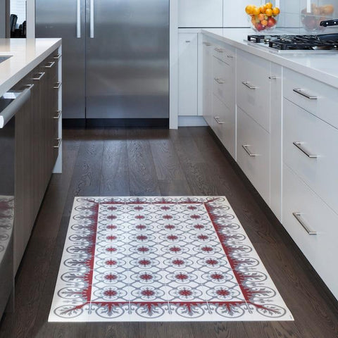 Hidraulik vinyl floor mats rugs and runners Aribau design