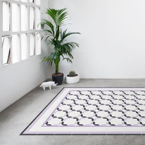 Hidraulik vinyl floor mats rugs and runners Diagonal design