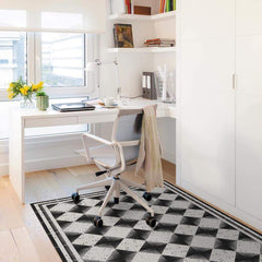 Hidraulik vinyl floor mats rugs and runners Portaferrissa design