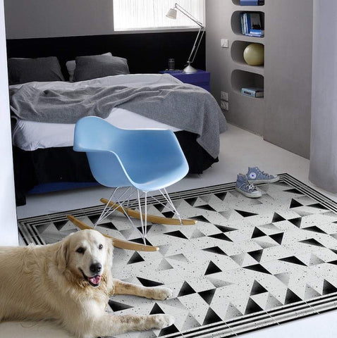 Hidraulik vinyl floor mats rugs and runners Tallers design