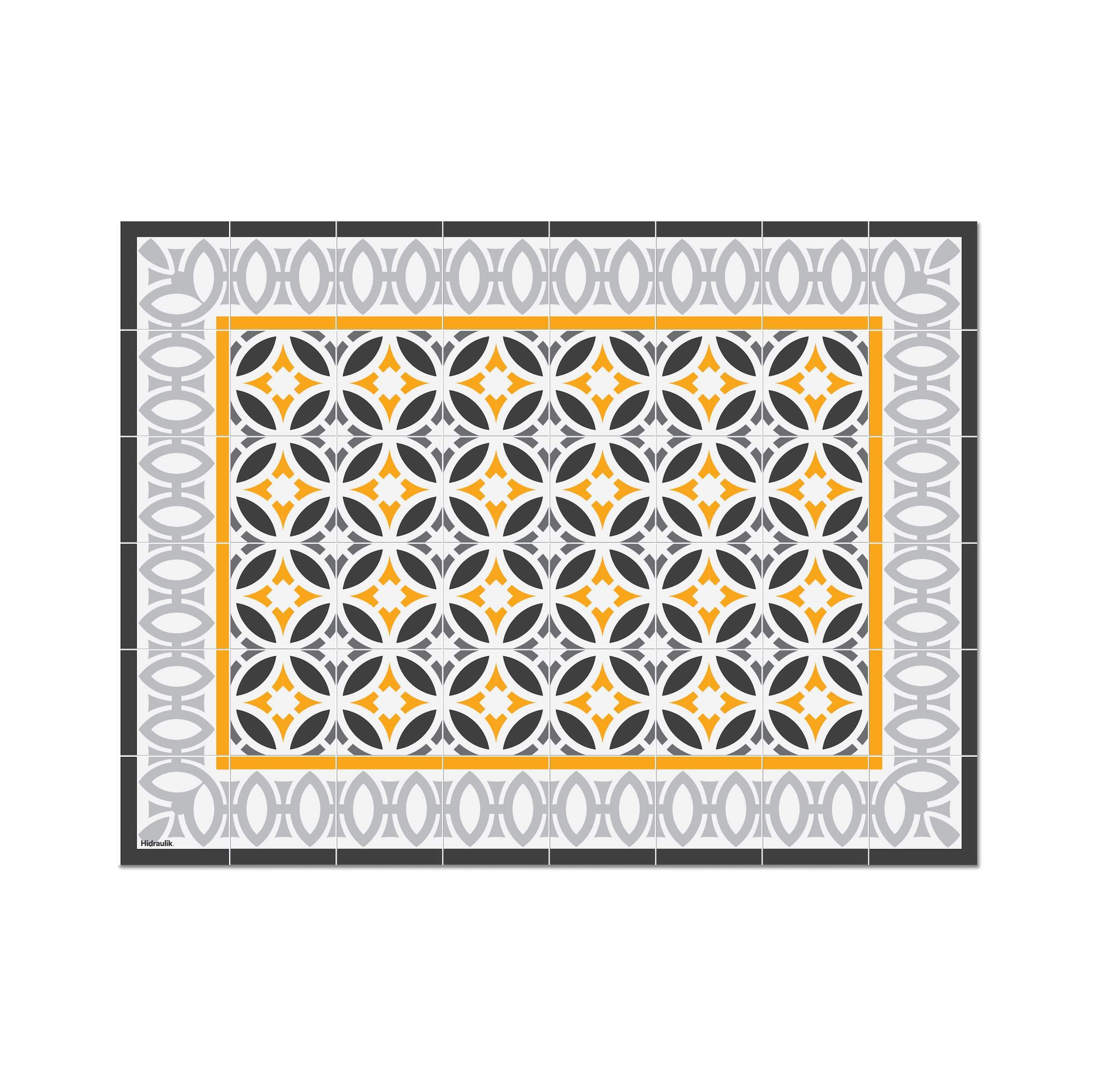 Hidraulik Letamendi rectangular placemat vinyl washable