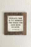 "Perhaps You Were Made... Esther 4-13-12"" x 12"" Endless Frame Metal Print"