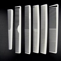 10Pcs Professional Carbon Combs